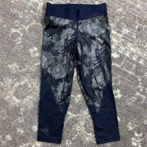 Adidas Workout Leggings Blue/Gray